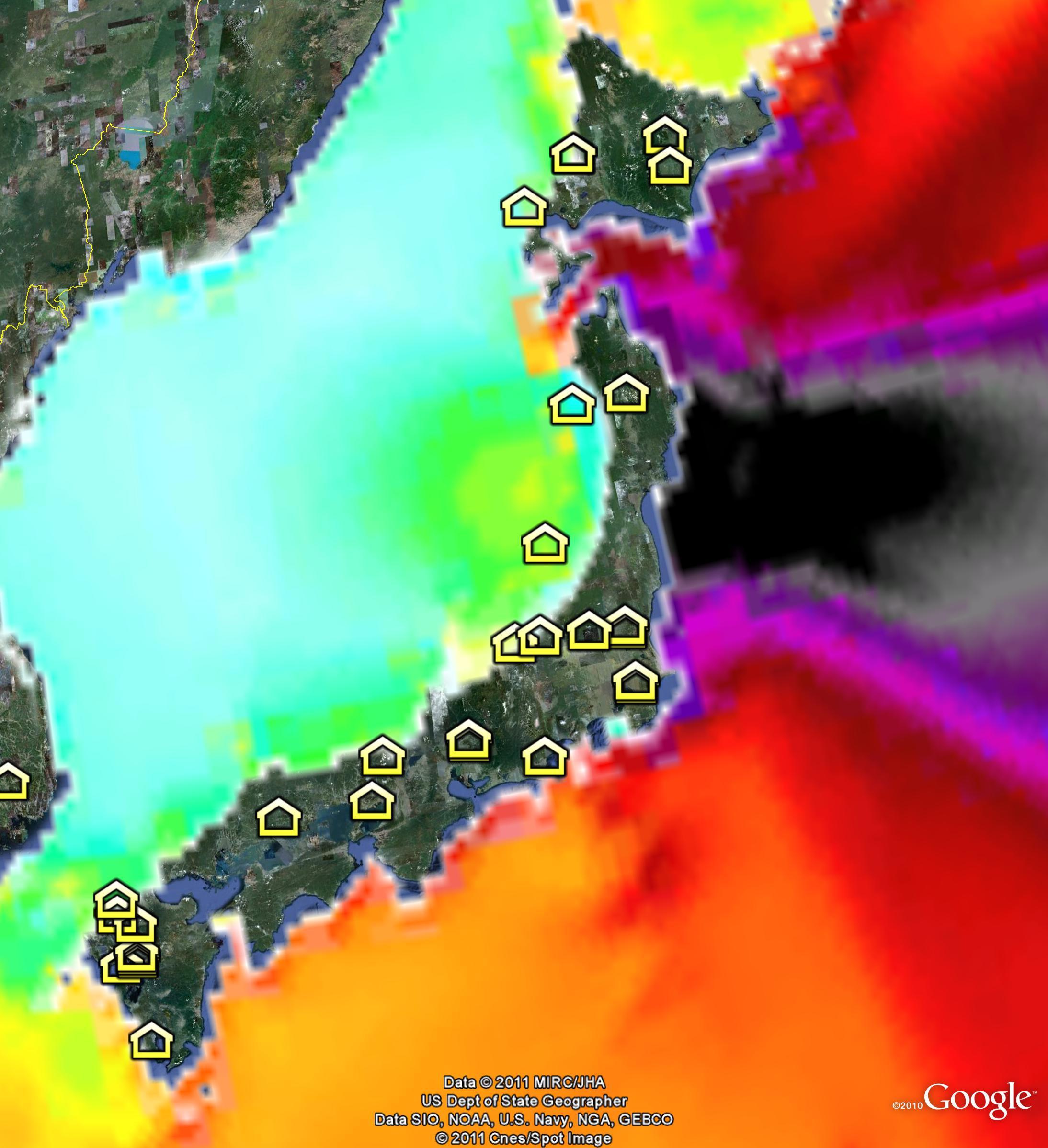 300zx Turbo Wiki: Japan Tsunami Wave Height