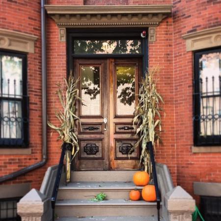Doorway in South End, Boston.